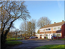 SO9095 : Housing by Muchall Park in Wolverhampton by Roger  Kidd