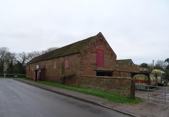 Barn on Main Road, Skeffling