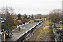 SJ8993 : Reddish South railway station by Bill Boaden