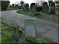 SK5640 : War grave in Nottingham General Cemetery by Stephen Craven
