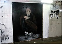 TG2208 : The Underground Gallery / St Stephens underpass - mural by Evelyn Simak