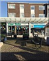 SP2871 : Paving and street furniture, The Square, Kenilworth by Robin Stott