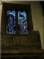 SK5239 : St Leonard, Wollaton - WW1 memorial window by Stephen Craven