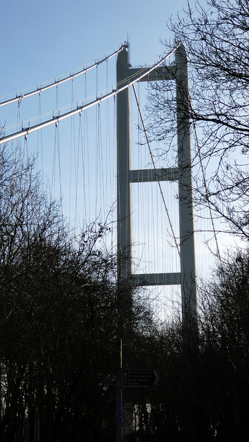 The north tower, Humber Bridge