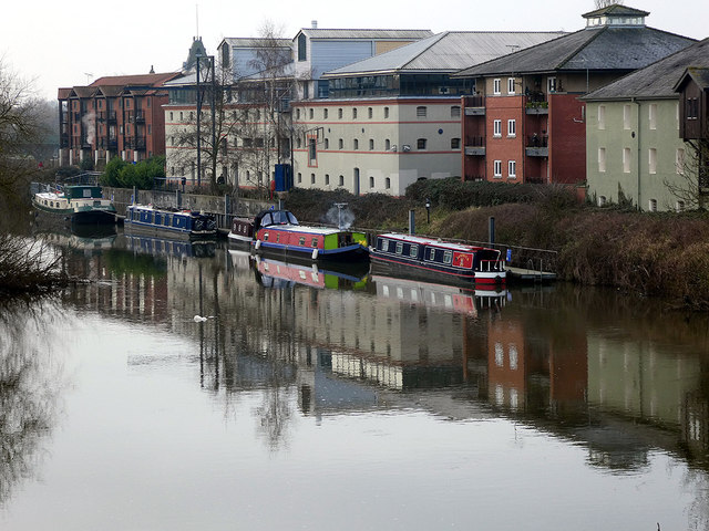 Moored in the Trent