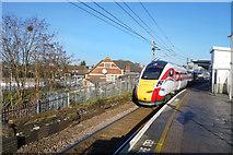 TQ2182 : Train at Willesden Junction Station by Des Blenkinsopp
