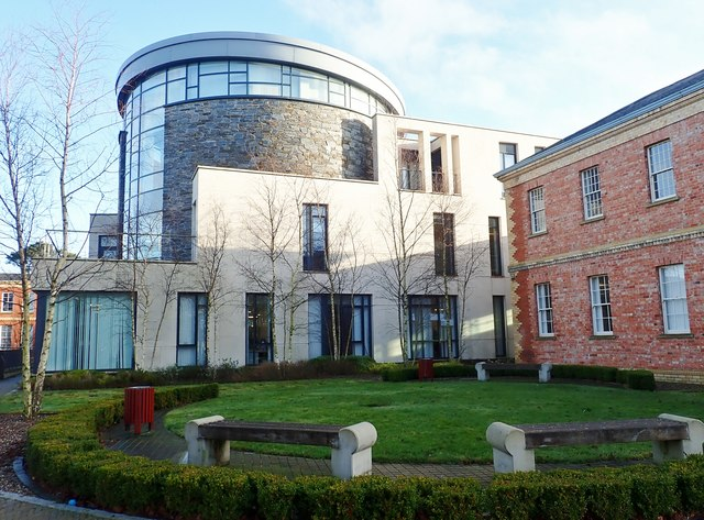 The new West Wing of the Downshire Civic Centre