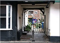 TG2309 : Passage into 1-3 Hartleys Court by Evelyn Simak