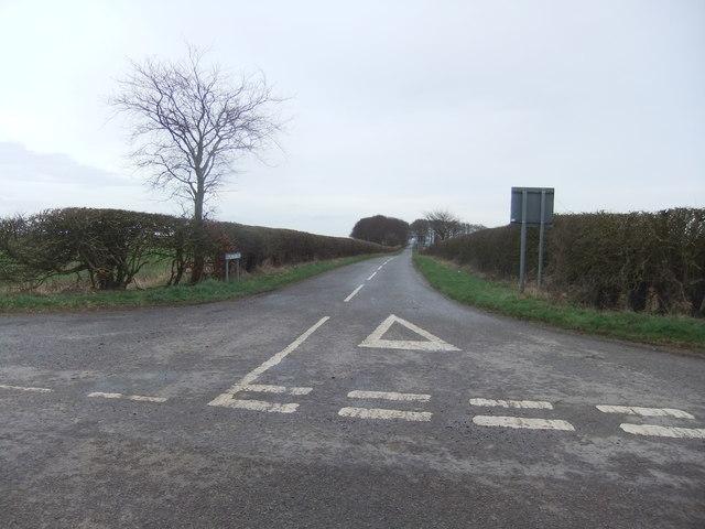 Road to Hallington
