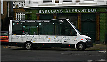 TQ3283 : HCT Group bus in Hoxton by David Kemp