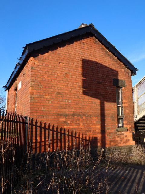 Railway building alongside Hall Road Station, Blundellsands