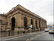 NZ2463 : The portico of the Central Station, Newcastle by Robert Graham