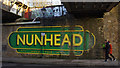 TQ3575 : Nunhead station - Walk this way by Ian Taylor