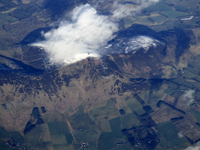 Tinto Hill from the air