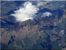 NS9533 : Tinto Hill from the air by Thomas Nugent