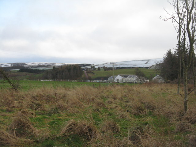 West Latch and the Lammermuir Hills
