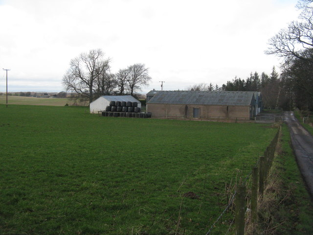 Farm buildings at Newton Hall