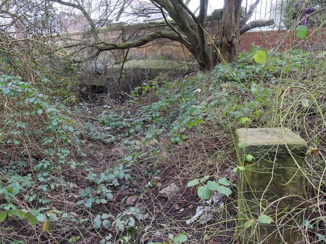 Boundary Stone and Wepre Bridge