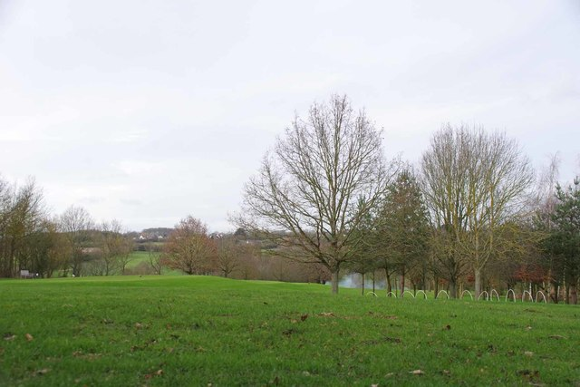 Across Toot Hill Golf Course