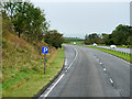 NS3837 : Layby on the Eastbound A71 near Muirhouse by David Dixon