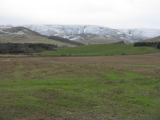 Stubble field at Pyatshaws