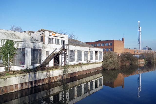 Derelict Canalside Factory