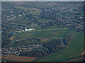 TQ2157 : Epsom Downs racecourse from the air by Thomas Nugent