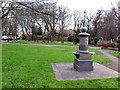 NZ4061 : Drinking Fountain, Front Street, Whitburn by Andrew Curtis