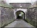 SS7597 : Underpass beneath Neath railway station by Jaggery