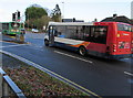ST3090 : Two buses ascending the A4051 Malpas Road, Newport by Jaggery