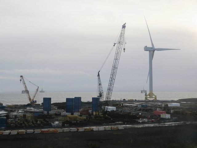 Wind turbine, Fife Energy Park