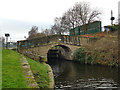 SE1618 : Riddings Bridge & Lock 6, Huddersfield Broad Canal by Stephen Craven