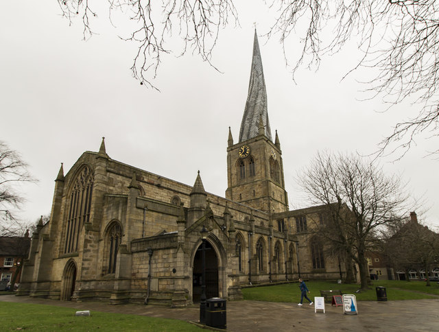 St Mary & All Saints' church, Chesterfield