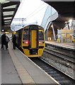 ST3088 : Manchester Piccadilly train at platform 4, Newport station by Jaggery