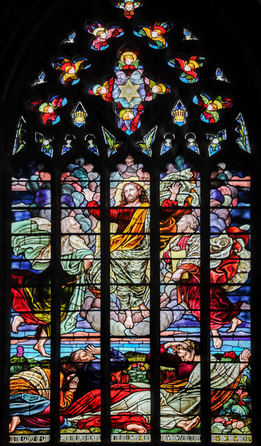 South transept window, St Mary & All Saints' church, Chesterfield