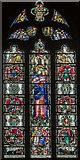 SK3871 : Good Samaritan window, St Mary & All Saints' church, Chesterfield by Julian P Guffogg
