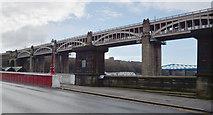 NZ2563 : The High Level Bridge, Newcastle by habiloid