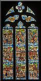 SK3871 : Chesterfield window, St Mary & All Saints' church, Chesterfield by Julian P Guffogg