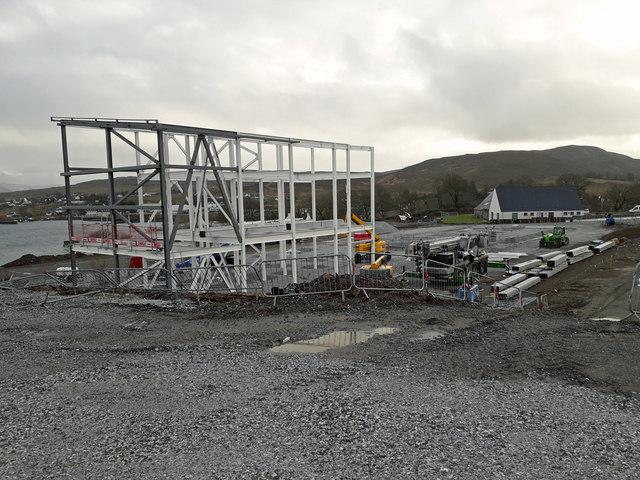 Hospital under construction