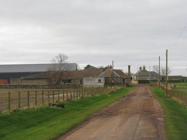 Kirklands farm, East Lothian