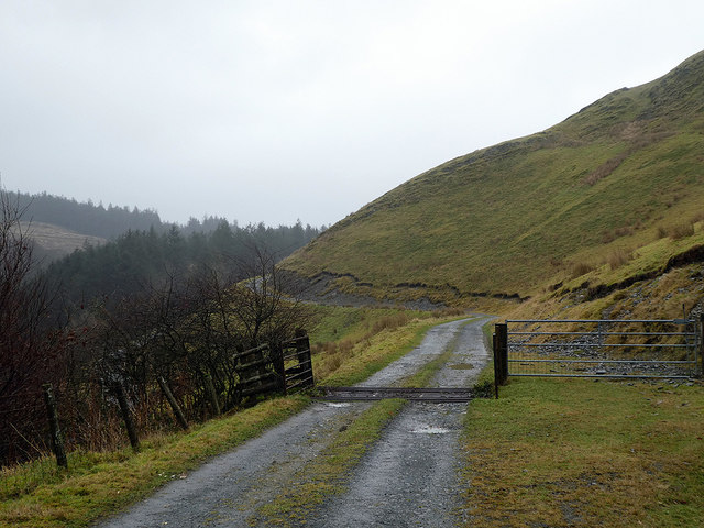 Farm track and bridleway