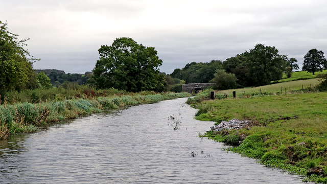 Canal and Staffordshire pasture west of Hazelhurst Junction