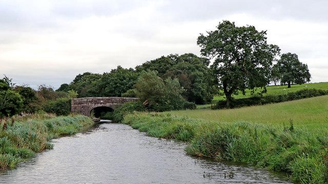 Plant's Bridge west of Hazelhurst Junction, Staffordshire