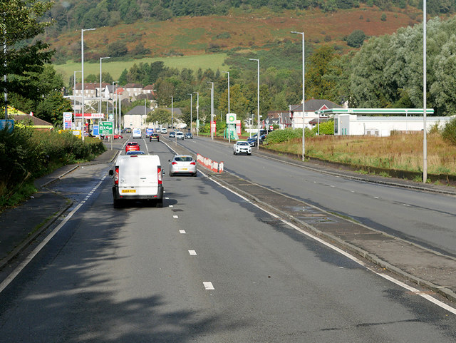 A82, Dumbarton Road, approaching Milton