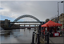 NZ2563 : Tyne Bridges by habiloid