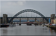 NZ2563 : Tyne Bridges by habiloid