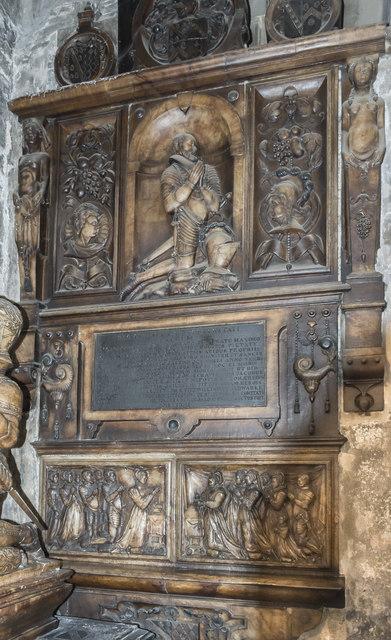 Foljambe monument, St Mary & All Saints' church, Chesterfield