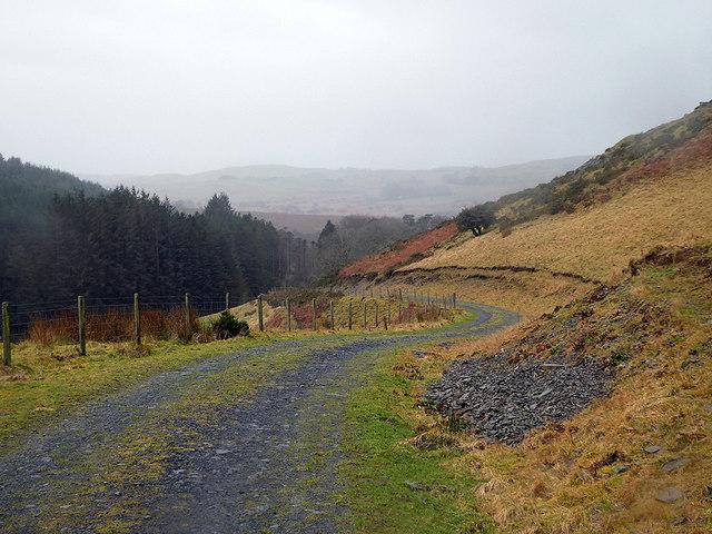 Farm track and bridleway