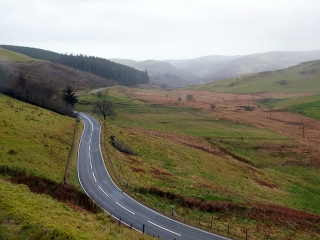 The B4574 road