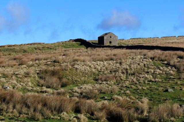 Abandoned Stone Barn on Grimwith Fell